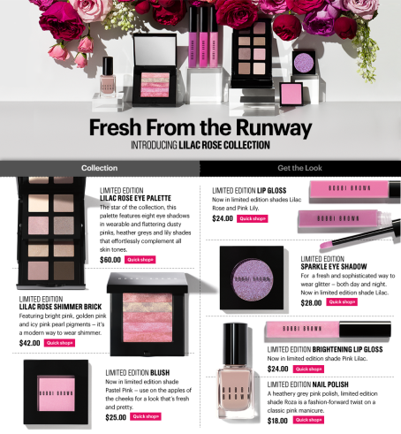 Bobbi Brown Lilac Rose Collection-main