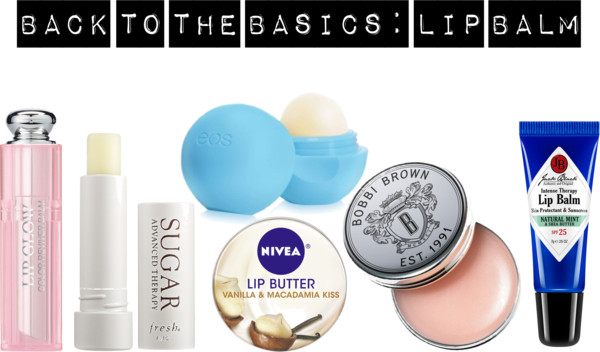 beauty products-lip balm